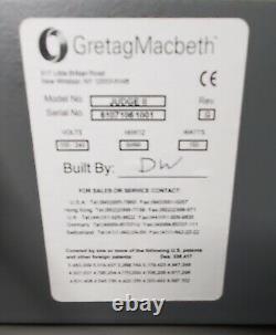 X-RITE GretagMacbeth The Judge II Judge 2 Light Box Viewing Booth Gretag Macbeth