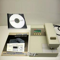 X-Rite 810TR Transmission Reflection Densitometer XRite 810 withTran. Calibrations