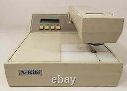 X Rite 810 Transmission Reflection Densitometer Made In USA Read Description