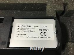 X-Rite CTP15 Plates calibration Densitometer