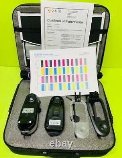 X-Rite EFI ES-2000 i1 Pro Rev E Spectrophotometer with Case TESTED (1413 Seconds)