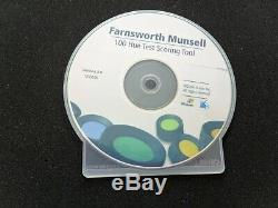 X-Rite Farnsworth Munsell 100 Hue Color Vision Test with Software Complete Kit