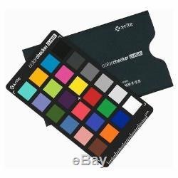 X-Rite XRIT253 Mini ColorChecker Classic 24 Colors Chart Card