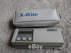 X-rite 400 densitometer