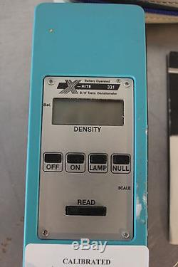 Xrite 331 Handheld Portable Transmission Densitometer