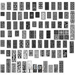 +500 Articles Dxf Plasma Routeur Laser Cut -cnc Vector Dxf Cdr Ai Fichier Pdf Art