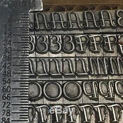 Aigrette 18 Pt Typographie Typographie De L'imprimante Vintage
