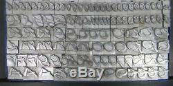 Alphabets Letterpress Type D'impression Importation Bauer 42pt Charme 12 # Mm49 Didot