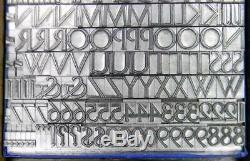 Alphabets Métal Letterpress Type D'impression 36pt Delphian Ouvert Titre Mm35 5 #