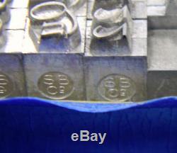 Alphabets Métal Letterpress Type D'impression Importation Sb 18pt Perpetua Italique Mm03 6 #