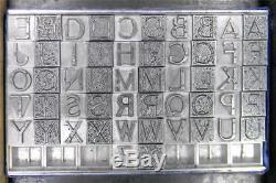 Alphabets Type D'impression Typographique Monogram 36pt 2 / C Initiales Massey Ml89 4 #