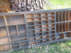 Antique Hamilton Spacer Typo, Bordure, Case Shadow Box Divers C84