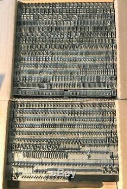 Bernhard Gothic Letterpress Type 36 Pt