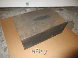 Cabinet De Type Steal Vintage Letterpress Showcard J28