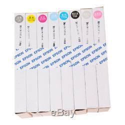 Cartouches D'encre Rechargeables Pour L'imprimante À Jet D'encre D'epson Stylus Pro 7800 9800