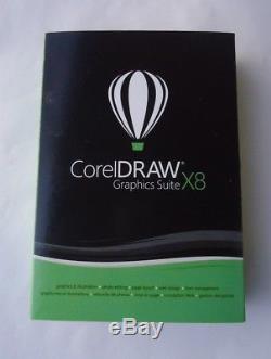 Corel Draw Graphics Suite X8 Windows Nouveau Scellé