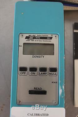Densitomètre Portable Portatif Xrite 331