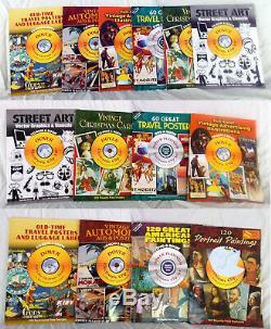 Dover Électronique Clip-art Avec CD Roms (34) Livres En Lot