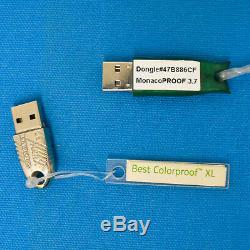 Efi Meilleur Coloproof XL & Monacoproof 3.7 Rip Dongles