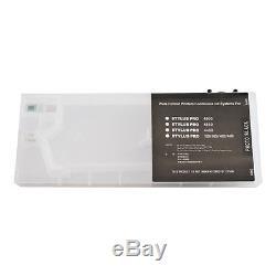 Epson Stylus Pro 4880 Cartouches D'encre De Recharge 8pcs / Set Avec 4 Entonnoirs