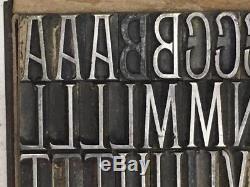 Façade De 48 Points Du Type Typographique De Type Fonderie Boston