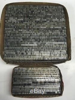 Goudy Oldstyle 12 Pt Atf 178 Imprimante Vintage Type Métal