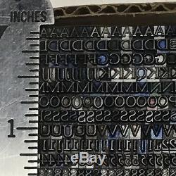 Goudy Oldstyle, Impression En Métal En Plomb De Type Typographie 10 Pt