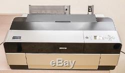 Imprimante Grand Format Epson Stylus Pro 3880 Fonctionne Très Bien