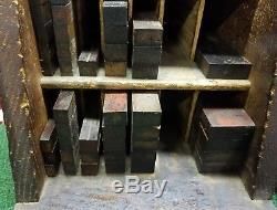 Imprimantes Letterpress Hamilton Meubles Meuble Avec Meubles Vintage