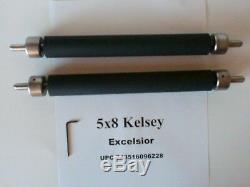 Kelsey Excelsior 5x8 Rouleaux Et Camions En Caoutchouc Presse Typographique Tous