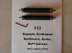 Letterpress 2 Rouleaux Et Camions Pour 2 X 4,25 Chase Sigwalt # 11 Ou Baltimore