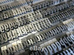 Letterpress Type De Plomb 48 Pt. Atf 704 Brody A9