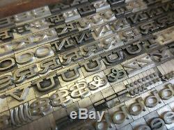 Letterpress Type Plomb 24 Pt. Hellénique Large Bauer Type Foundry A40