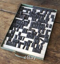 Lettre De Presse Lettres Vintage Magnétiques Impression Caoutchouc Magnétiques Tiroir B