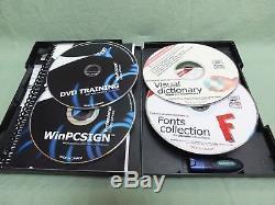 Logiciel De Découpe De Vinyle Winpcsign Pro 2014 Rhinestone + Extras