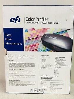 Nouveau Dans La Boîte, Spectroscope Photométrique Color Profiler Suite Efi Es-1000 Pcs Fixe