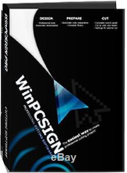 Nouveau Logiciel De Coupe Winpcsign Pro 2014 Tout Vinyle Cutter Uscutter Rhinestone