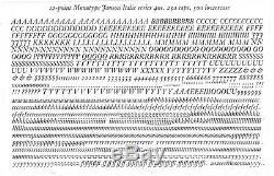 Nouveau Type 12pt Typo. Janson Italique