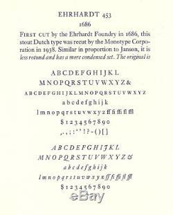 Nouveau Type De Typographie -12pt. Ehrhardt Compléter La Police
