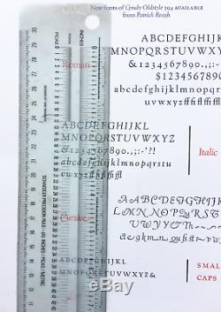 Nouveau Type De Typographie 18pt. Goudy Old Style Italique