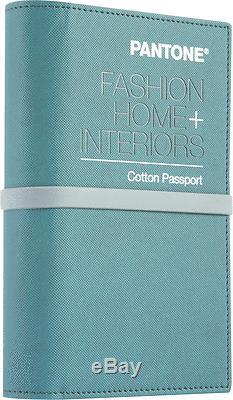 Pantone 2018 Mode + Maison Coton Passport Fhic200 (remplace Ffc204)