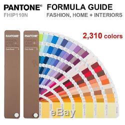 Pantone Fhip110n Mode, Accueil + Intérieurs Guide De Couleurs Fhi 2 310 Couleurs Nouveau