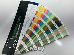 Pantone Formula Guide Solide Et Coated Uncoated- Nouveau