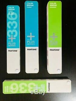 Pantone Plus Series Color Bridge 336 Nouvelles Couleurs Et Sans Revêtement
