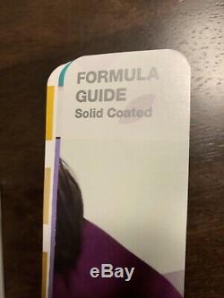 Pantone Plus Series Gp1601n Solide Formule Coated / Uncoated Guide 2016