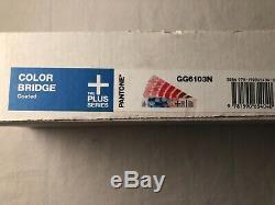 Pantone Rosa & Blue 01 Guide Color Bridge Coated Gg6103n