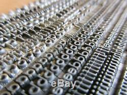 Plomb 10 Letterpress Type Pt. Parsons Italique (b, B & S) A21