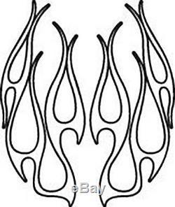 Rare Fantôme Flammes Vector Clipart Pour Signe Vinyle Signe Cutter Traceur