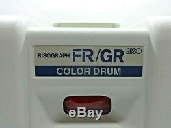 Riso Risograph Fr / Gr Couleur Tambour Rouge Vif 550-21763-100 Avec Étui Et Encre