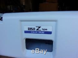 Riso Risograph Ztype Z-type Duplicateur Violet Tambour Couleur